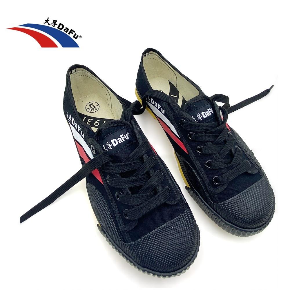 DaFu Kungfu Original Sneakers Martial Arts Shaolin shoes Taichi Taekwondo Wushu Soft Comfortable Men Women Canvas Shoes