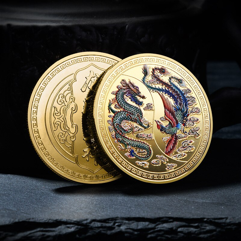 Dragon and the Phoenix Commemorative Coins