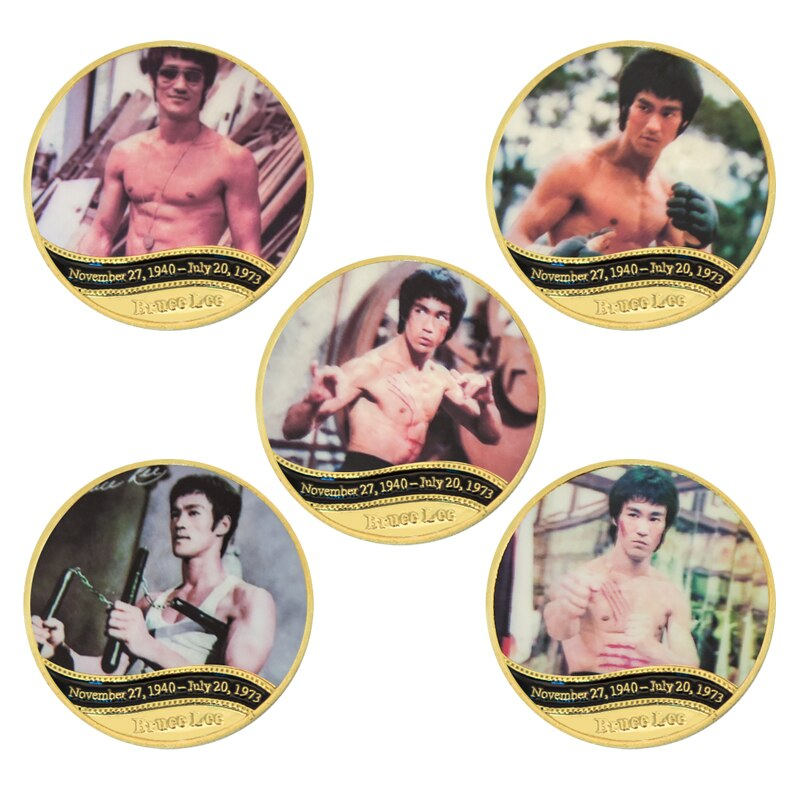 Bruce Lee Gold Commemorative Coins
